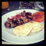Even in Africa u can get  English Breakfast Lol! I'll let u know when I get the African breakfast!